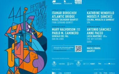 Músicos internacionales y una cuidada selección de jazz nacional para la recuperada 44 edición del Festival de Jazz de Vitoria-Gasteiz
