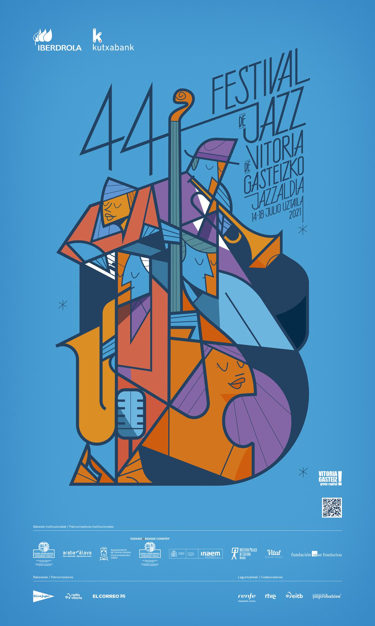 44 edición Festival Jazz Vitoria Gasteiz
