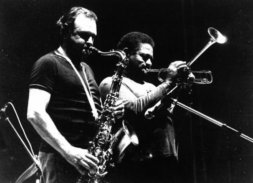 Dizzy Gillespie y Stan Getz · VI Festival de Jazz 1982