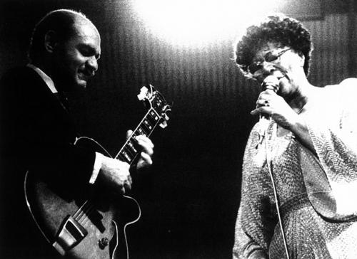 Ella Fitzgerald y Joe Pass · VII Festival de Jazz 1983