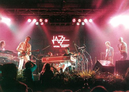 John McLaughlin y Chick Corea  · VIII Festival de Jazz 1984