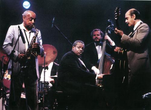 Oscar Peterson, Benny Carter y Joe Pass  · IX Festival de Jazz 1985