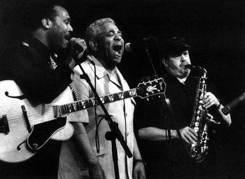 Dizzy Gillespie, Phil Woods y George Benson  · XIII Festival de Jazz 1989