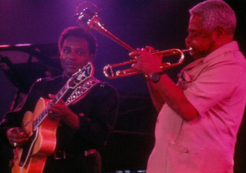 Dizzy Gillespie y George Benson  · XIII Festival de Jazz 1989