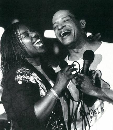 Al Jarreu y Randy Crawford · XIV Festival de Jazz 1990
