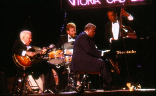 Oscar Peterson, Herb Ellis, Ray Brown y Jeff Hamilton · XV Festival de Jazz 1991